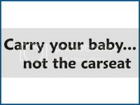 Carry Your Baby  Car Decal
