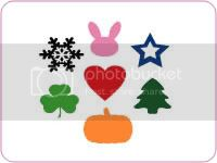 Holiday Scrapbook Decals