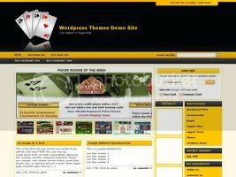 Wordpress Themes Online Casino Template 32