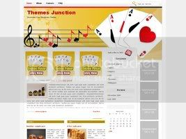 Wordpress Themes Poker Time 2
