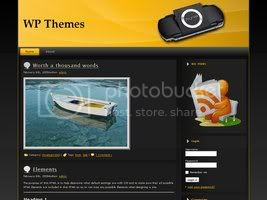 Wordpress Themes PSP v1